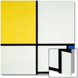 Komposition Mit Blau Und Gelb, 1931 Prints by Piet Mondrian