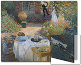 The Luncheon: Monet's Garden at Argenteuil, circa 1873 Prints by Claude Monet