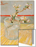 Blossoming Almond Branch in a Glass, c.1888 Prints by Vincent van Gogh