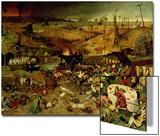 The Triumph of Death, circa 1562 Plakater av Pieter Bruegel the Elder