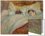 The Bed (Le Lit), 1892 Posters par Henri de Toulouse-Lautrec