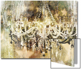 Vintage Crystal Chandelier Prints by Eric Yang