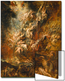 War in Heaven Poster by Peter Paul Rubens