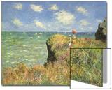 Cliff Walk at Pourville, 1882 Prints by Claude Monet