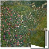 Italian Garden Landscape, 1917 Print by Gustav Klimt