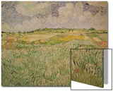 The Plain at Auvers, c.1890 Prints by Vincent van Gogh