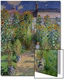 The Artist's Garden at Vetheuil, 1880 Art par Claude Monet