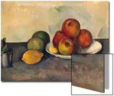Still Life with Apples, C.1890 Affiches par Paul Cézanne