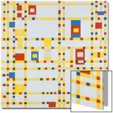 Broadway Boogie-Woogie, 1942 Prints by Piet Mondrian