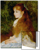 Little Irene, Portrait of the 8 Year-Old Daughter of the Banker Cahen D'Anvers, 1880 Prints by Pierre-Auguste Renoir
