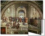 L'école d'Athènes Affiches par  Raphael