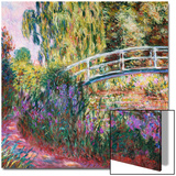 The Japanese Bridge, Pond with Water Lillies; Le Pont Japonais Bassin Aux Nympheas Art by Claude Monet