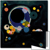 Sketch for Several Circles, 1926 Poster von Wassily Kandinsky