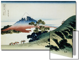 36 Views of Mount Fuji, no. 9: Inume Pass in the Kai Province Prints by Katsushika Hokusai