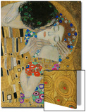 The Kiss, Der Kuss, Close-Up of Heads Prints by Gustav Klimt
