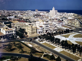 December 1946: View of Havana Looking West from the Hotel Nacional, Cuba Photographic Print by Eliot Elisofon