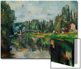 Bridge Over Ther Marne at Creteil, 1888 Posters by Paul Cézanne