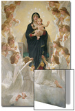 The Virgin with Angels, 1900 Posters par William Adolphe Bouguereau