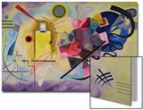 Gelb, Rot, Blau (1925) Poster von Wassily Kandinsky