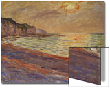 Beach at Pourville, Sunset, 1882 Prints by Claude Monet