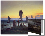 The Stages of Life, circa 1835 Poster by Caspar David Friedrich