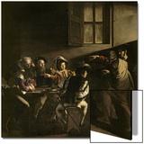 La Vocation de saint Matthieu, vers 1598-1601 Affiches par  Caravaggio