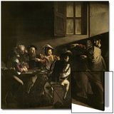 The Calling of St. Matthew, circa 1598-1601 Prints by  Caravaggio
