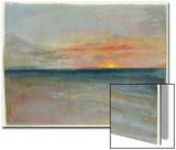 Sky Study Posters by J. M. W. Turner