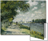 The Seine at Argenteuil, 1875 Poster by Claude Monet