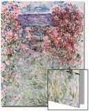 The House in the Roses, 1925 Prints by Claude Monet
