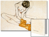 Female Nude, 1901-1918 Prints by Egon Schiele