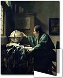 The Astronomer, 1668 Kunstdrucke von Jan Vermeer