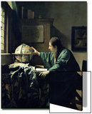 The Astronomer, 1668 Art by Jan Vermeer