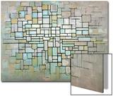 Compostion No. II, 1913 Julisteet tekijänä Piet Mondrian