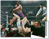 Dempsey v. Firpo in New York City, 1923, 1924 Posters by George Wesley Bellows