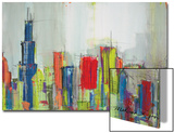 Chicago Skyline Art by Melissa Lyons