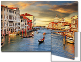 Venetian Sunset Prints by  Maugli-l