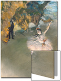 The Star, or Dancer on the Stage, circa 1876-77 Art by Edgar Degas