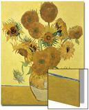 Vase of Fifteen Sunflowers, c.1888 Affiches par Vincent van Gogh