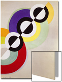 Prismen, 1934 Poster by Robert Delaunay