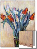 Tulips, 1885 Prints by Claude Monet