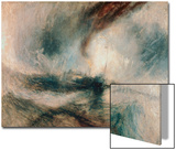 Snowstorm at Sea, 1842 Prints by Joseph Mallord William Turner