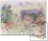 La Maison a Travers Les Roses, circa 1925-26 Prints by Claude Monet