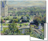 View of the Tuileries Gardens, Paris, 1876 Posters by Claude Monet