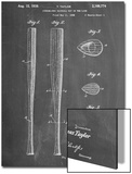 Baseball Bat Patent 1938 Prints
