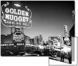 The Golden Nugget Gambling Hall Lighting Up Like a Candle Posters by J. R. Eyerman