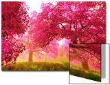 Mysterious Japanese Cherry Blossom Tree Sakura Render Posters by  boscorelli
