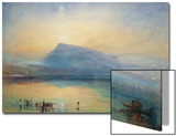 The Blue Rigi: Lake of Lucerne - Sunrise, 1842 Posters by J. M. W. Turner