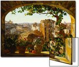 Piazza Barberini, Rome, 1830 Posters by Karl Von Bergen