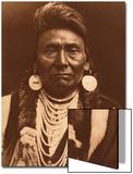 Chief Joseph-Nez Perce, 1903 Affiches par Edward S. Curtis